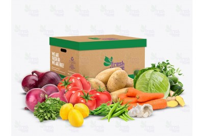Essential Fresh Veggies Box - Approx 6kgs