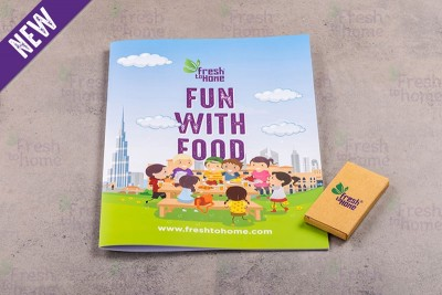 FTH Children's Activity Book & Color Pencils