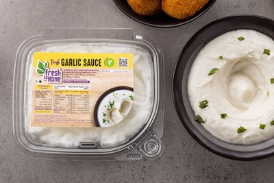 Fresh Garlic Sauce (Toum)