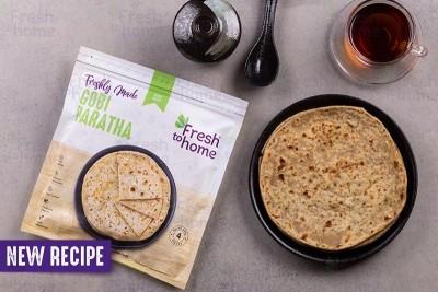 Gobi Paratha (Cauliflower) / براتا قرنبيط  - Pack of 4