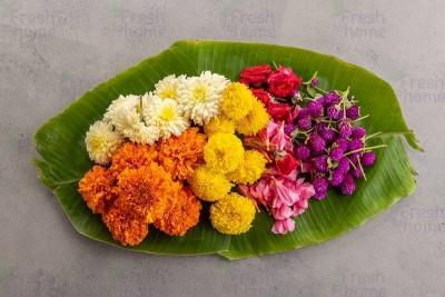 Onam Flower Box /Pookalam - 800 grams