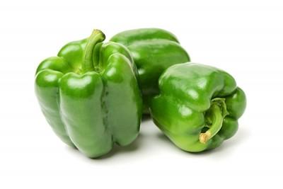 Organic Green Capsicum (AE) - Pack of 500g