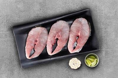 Bhetki / ভেটকী / Barramundi / Asian Seabass / Kalanji - Steaks