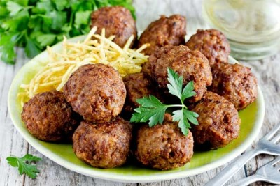 Cheesy Vegetable Kofta