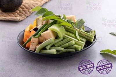 Sambar Cut Vegetable Mix (Pack of 350g - 380g)
